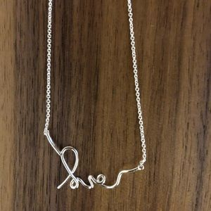 Stella & Dot LOVE Necklace